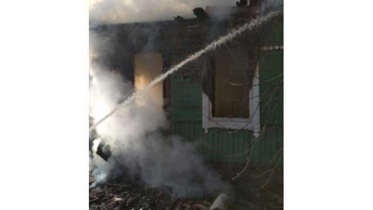 В Любохне сгорел частный дом