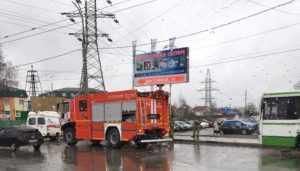 В Брянске перекрыли движение из-за подозрительного пакета в автобусе