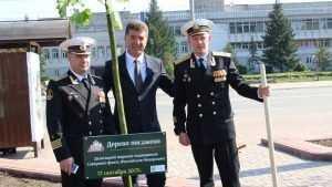 Глава Брянска поздравил моряков-подводников с их праздником