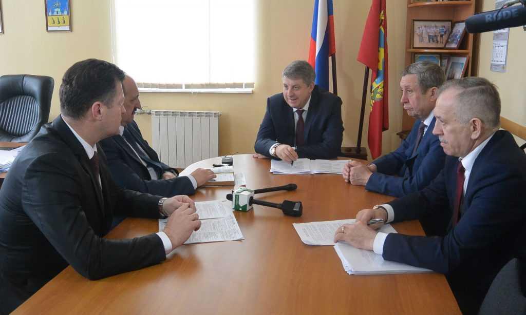 Губернатор Брянской области Александр Богомаз побывал в Трубчевске