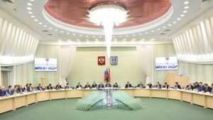 В Брянске проходит межрегиональный координационный совет «Единой России» по ЦФО