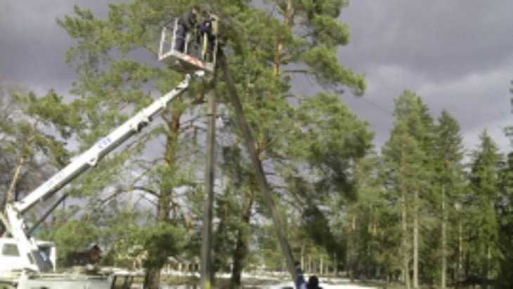 На ремонт электросетей в Брянской области отправили 17 бригад