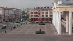 В Брянске появился первый диагональный пешеходный переход в городе