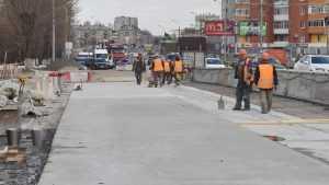 В Брянске движение по новому Первомайскому мосту откроют к 5 июля