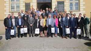 Мэр Стародуба посетил сербский город-побратим