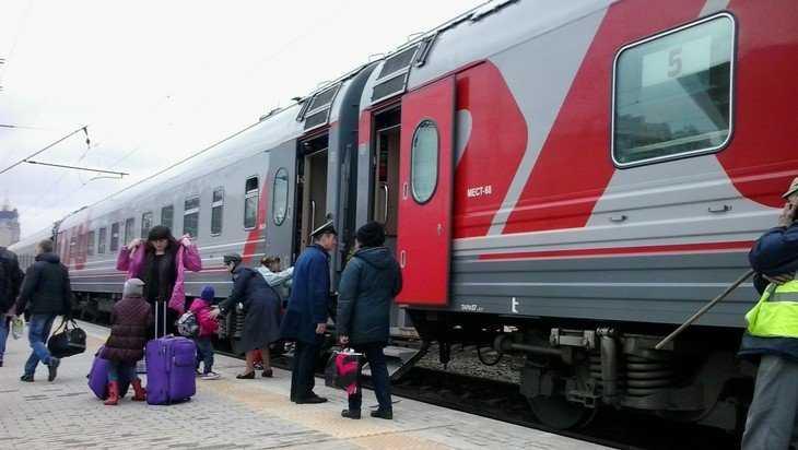 Дополнительные поезда свяжут Брянск с Москвой и Петербургом на майские праздники