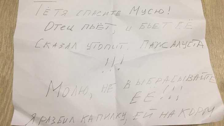 Для избавления от котёнка лукавый житель Брянска прикинулся ребенком