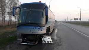 В Почепском районе попал в ДТП автобус со школьниками
