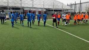 В Брянске чернокожие студенты БГИТУ победили на футбольном турнире