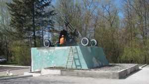 Строители Первомайского моста отремонтируют брянскую «зенитку»
