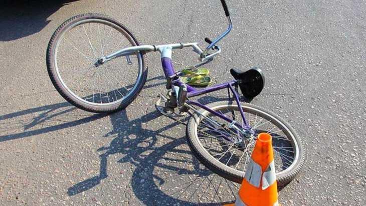 В Брянске покалечилсяв ДТП 10-летний ребенок на велосипеде