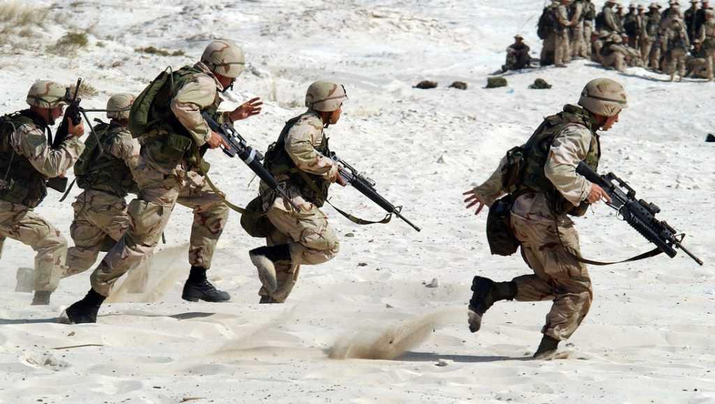 Сержант США: «Россия — это единственный и самый страшный враг»