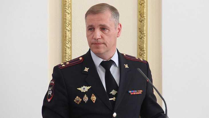 Бывшего главного брянского гаишника представили тульским полицейским