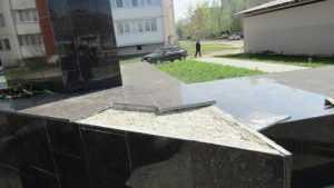 В Новозыбкове вандалы изуродовали памятник воинам-освободителям