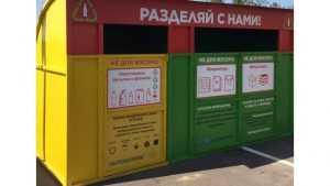 Экодомик для раздельного сбора мусора в Брянске превратили в свалку