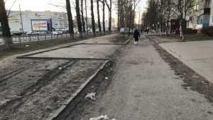 В Брянске соорудили автостоянку, куда может сесть только вертолет
