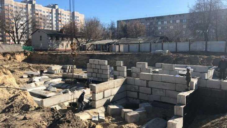 Началось строительство детской поликлиники в Фокинском районе Брянска