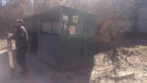 В Брянске очищенную улицу Репина снова превратили в свалку