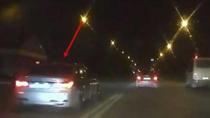 В Брянске изобличить нарушителя на BMW помогла видеозапись