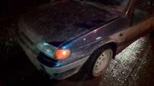 В Навле пьяный водитель сбил пешехода и уехал с места ДТП