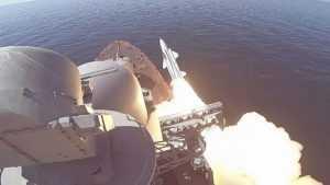 Ракетные стрельбы прошли в Черном море