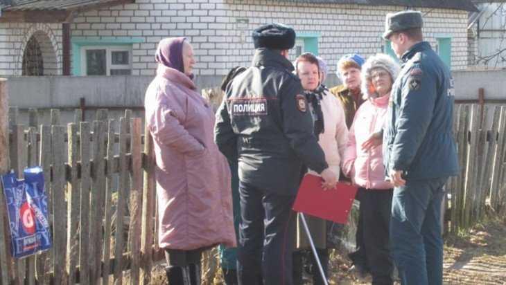 Брянские сотрудники МЧС и полиции поймали 8 поджигателей сухой травы