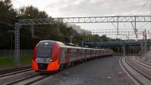 Брянский поезд сбил в Калужской области мужчину