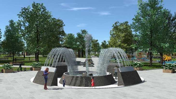 В Майском парке Брянска построят фонтан и экстрим-городок