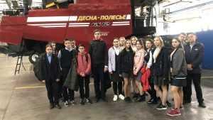 «Брянсксельмаш» проводит экскурсии для школьников и студентов