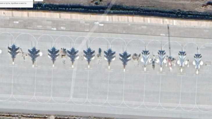 Google показал все тайны российского военного аэродрома