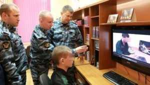 В воспитательной колонии Брянска появились видеоблогеры