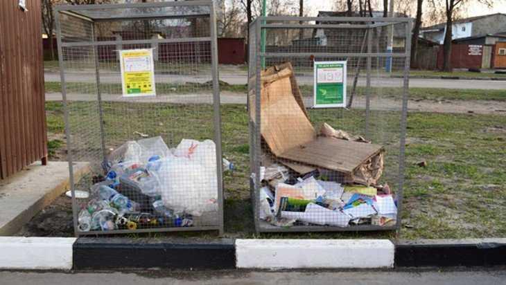 Контейнеры для раздельного сбора мусора в Брянске изготовили осужденные ИК-2