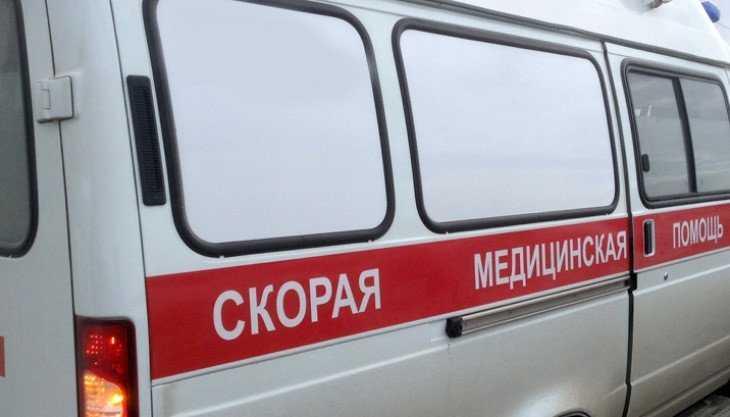 В Глинищеве потушили горевшую машину скорой помощи