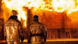 В Клетне при пожаре погиб 64-летний пенсионер
