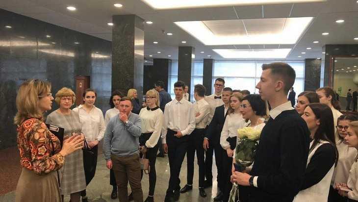 Брянские школьники по приглашению Валентины Мироновой посетили Госдуму