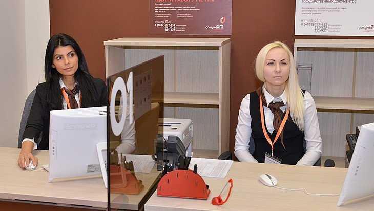 Брянская область отличилась числом госуслуг, получаемых через интернет