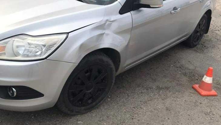 В Супоневе велосипедист «атаковал» встречный автомобиль