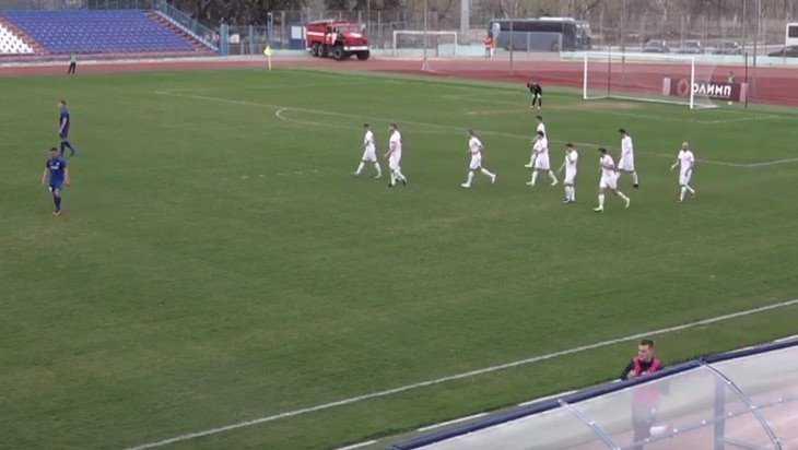 Брянское «Динамо» победило в Волгограде местный «Ротор-2»