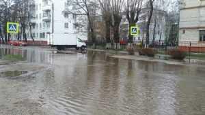 В Брянске утонула Клинцовская улица