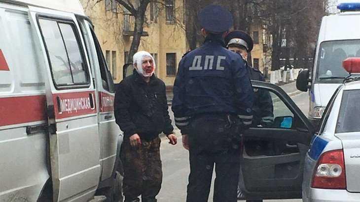 В Брянске в автобус с детьми врезался пьяный водитель Skoda