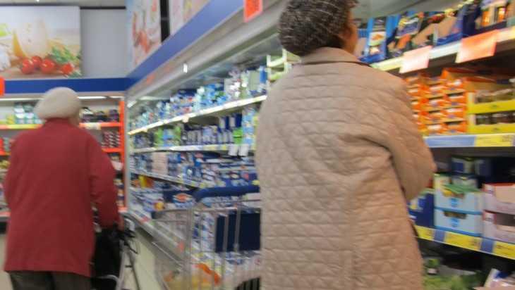 Цена минимального набора продуктов на Брянщине достигла 3879 рублей