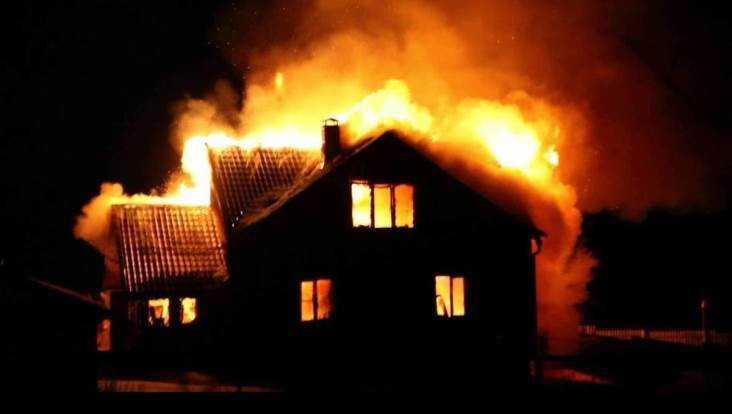 В Локте во время пожара погиб 68-летний пенсионер