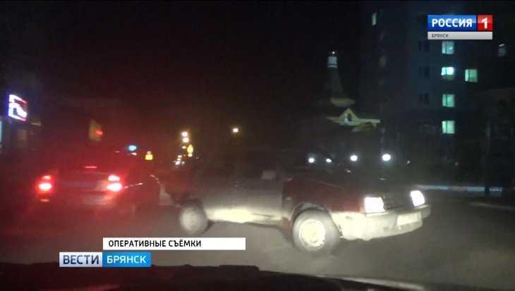 В Брянске гаишники поймали удиравшего от погони 19-летнего лихача