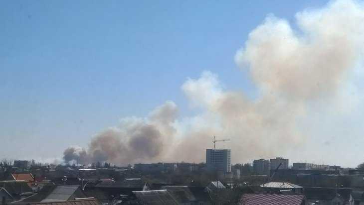 Жители Брянска сообщили о большом пожаре в Фокинском районе