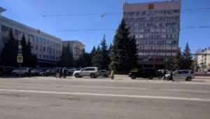 В Брянске шестерых водителей наказали за парковку на площади Ленина