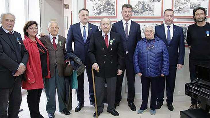 В Неаполе открыли выставку о брянских партизанах