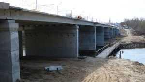В Брянске на Первомайском мосту залили выравнивающий слой бетона