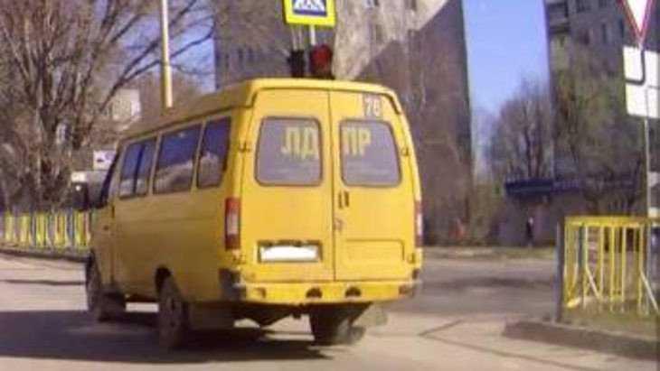 Брянского маршрутчика-лихача оштрафовали по видео в сети