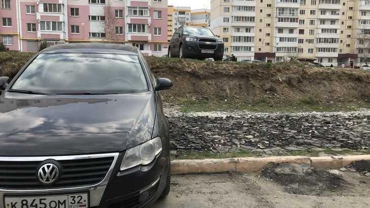 В Брянске зубастые водители выгрызли себе двухэтажную парковку