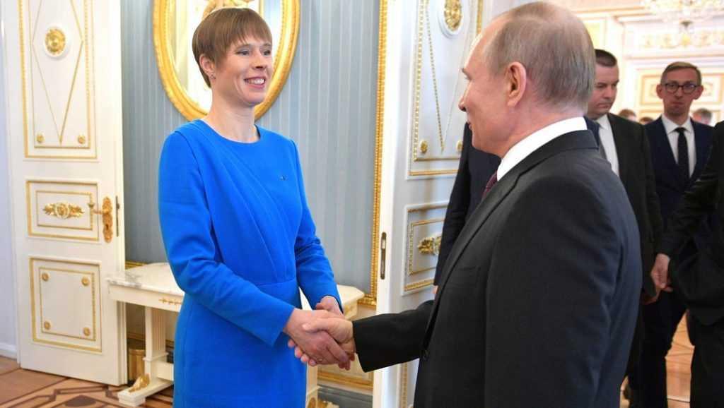 Президент Эстонии пришла в восторг от переговоров с Путиным